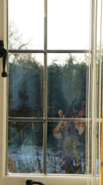 Misted sealed double glazing